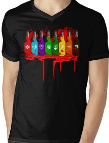 Perks all lined up and bloody Mens V-Neck T-Shirt