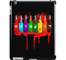 Perks all lined up and bloody iPad Case/Skin