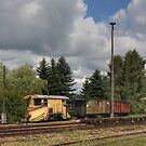 Cranzahl Station - The Snowplow by Eric Strijbos