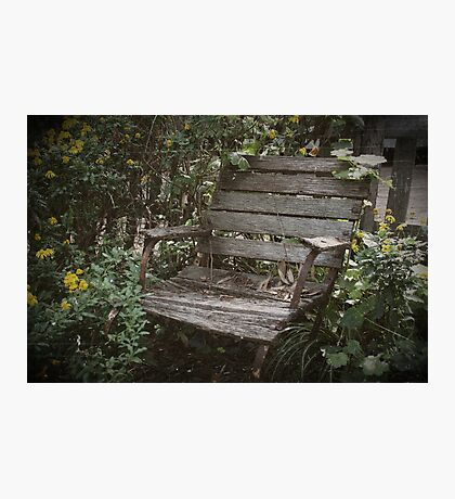 Old Chair Photographic Print