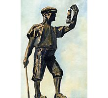 106 - WOODHORN COLLIERY MEMORIAL - DAVE EDWARDS -WATERCOLOUR - JUNE 2003 Photographic Print