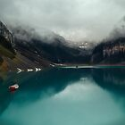 Turqoise beauty of Lake Louise  by Margaret Metcalfe