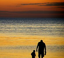 father and son by Cheryl Ribeiro