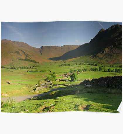Langdale Valley Poster