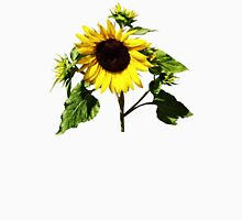 Sunflower Taking a Bow Womens Fitted T-Shirt