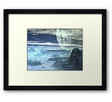Underground Cities  - Ice Planet Omega Framed Print