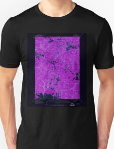 USGS Topo Map Oregon Bates 282239 1951 62500 Inverted T-Shirt