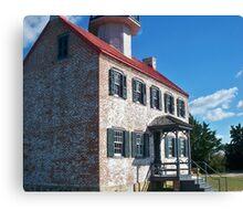 New Jersey Lighthouse Canvas Print