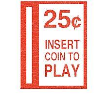Arcade Coin-Op T-shirt Photographic Print