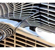 Cadillac Chrome Photographic Print