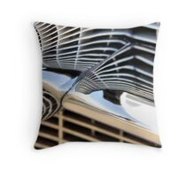 Cadillac Chrome Throw Pillow