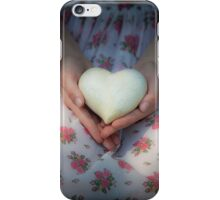 Hands holding a heart iPhone Case/Skin