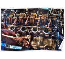 Suzuki 1300cc engine Poster
