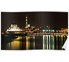 Putrajaya Night Cityscape Poster