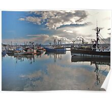 Newport Bay.....Newport, Oregon Poster