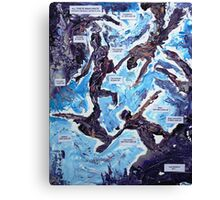 Emotional foundation Canvas Print