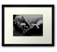 Silly Sunglasses Framed Print