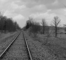 Norwood Countryside- B&W Series # 1 by Les Wazny