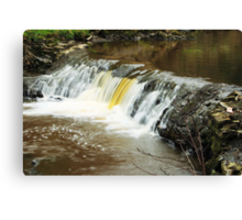 Mill River 2 Canvas Print
