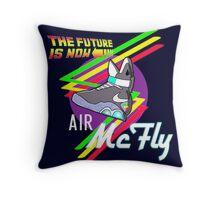 Air McFly  Throw Pillow