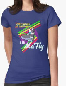 Air McFly  Womens Fitted T-Shirt