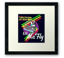 Air McFly  Framed Print
