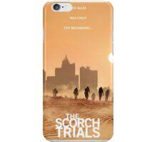 The Maze Runner The Scorch Trials Novel  iPhone Case/Skin