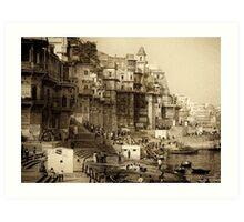 Varanasi 2010 Art Print