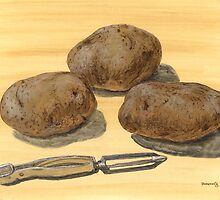 Pre-peeled Potatoes by bernzweig