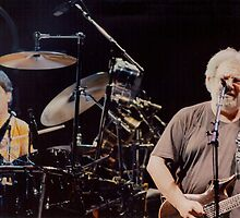 Jerry Garcia and Mickey Hart by Imagery