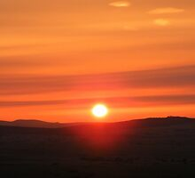 Dartmoor: Sunrise by Rob Parsons