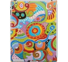 Quantum Strands (high resolution) iPad Case/Skin