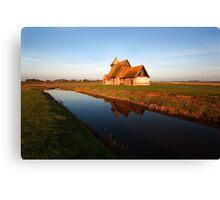 Fairfield Church, Romney,Kent Canvas Print