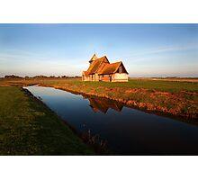 Fairfield Church, Romney,Kent Photographic Print