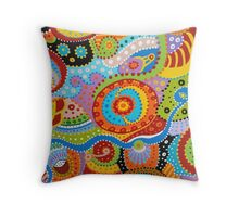 Quantum Strands (high resolution) Throw Pillow