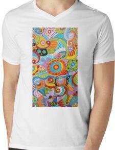 Quantum Strands (high resolution) Mens V-Neck T-Shirt