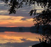 Sunset Silhouette by Ville Vuorinen