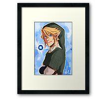 Link~ Framed Print