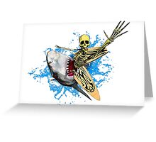 Surf'N'Skel Greeting Card