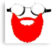 Beard Goggles Canvas Print