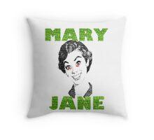 Funny Stoner T-shirt Throw Pillow