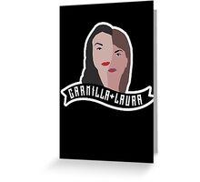 Carmilla & Laura minimalistic S2 poster. Greeting Card