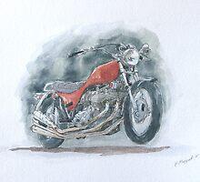 Triumph x-75 by Patryk Majgat