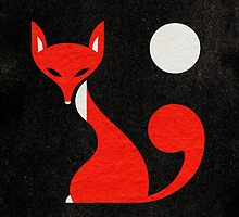 Fox and Moon Semicolon Version by Scott Partridge