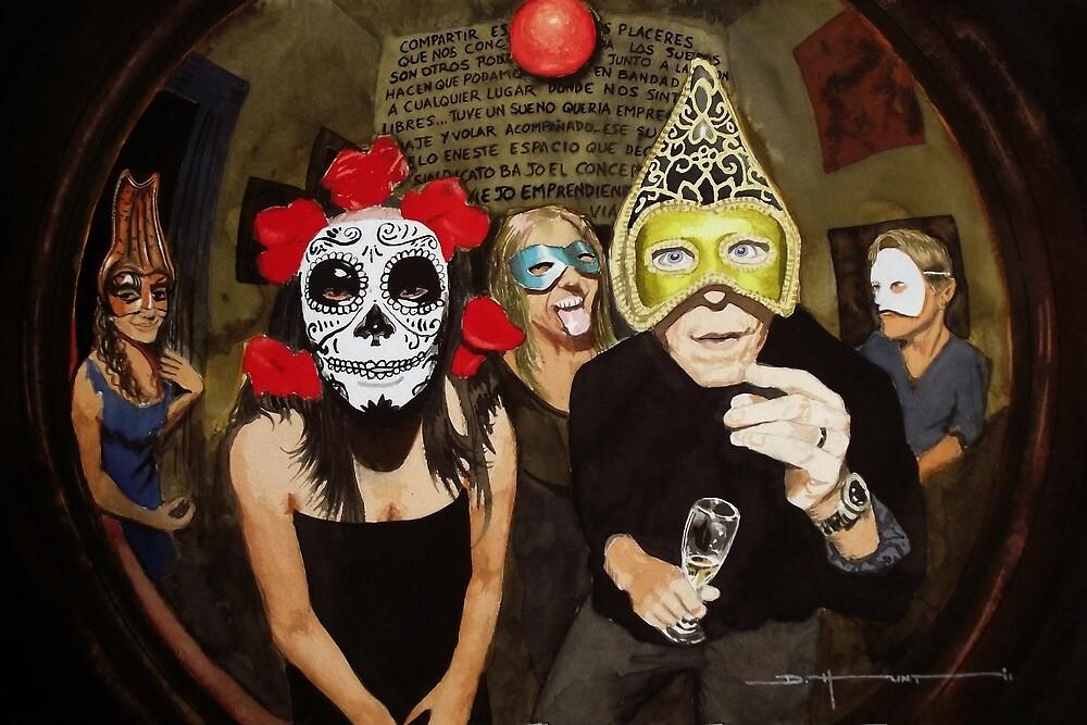 Masked Ball #3 by Douglas Hunt
