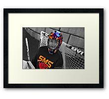 Hockey Nut Framed Print