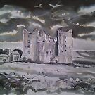 &#x27;Bolton Castle, Wensleydale&#x27;  by Martin Williamson (cobbybrook)