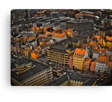 copenhaguen city landscape Canvas Print