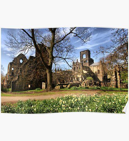 Kirkstall Abbey #2 Poster