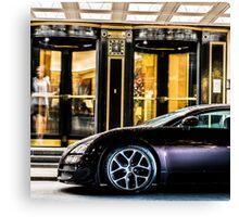 Bugatti At Night Canvas Print